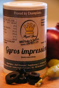 Gyros impression Royal Spice
