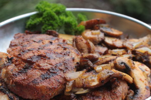 Flachgriller Nackensteaks - Royal Spice