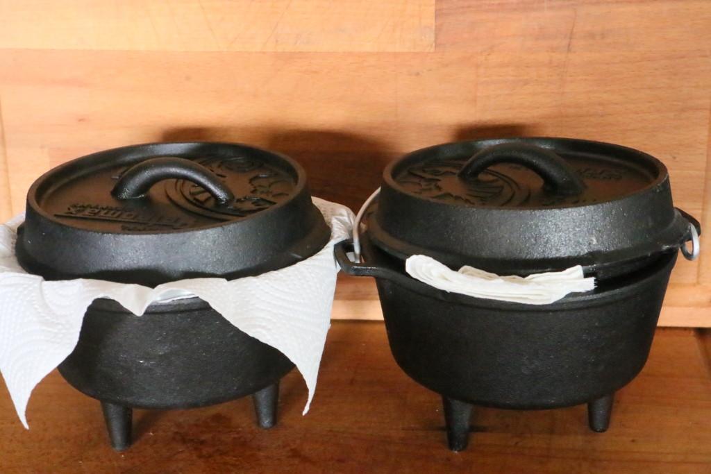 Dutch Oven einbrennen reinigen pflegen Royal Spice